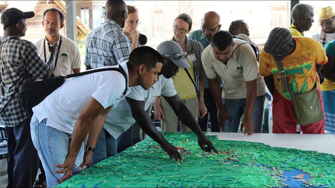 The enabling power of participatory 3D mapping among the Saramaccan Peoples of Suriname (part 1 & 2)