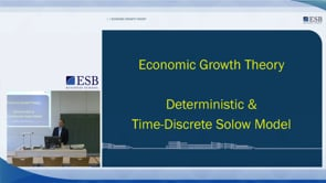 Time Discrete Solow Model