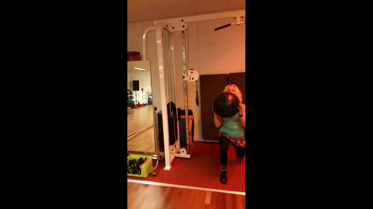 Benen trainen met  Natalie