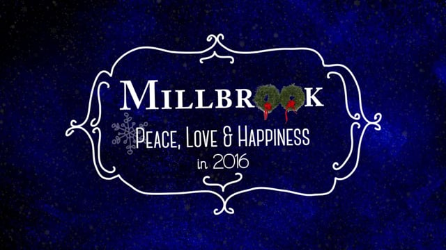Holiday Greetings from Millbrook