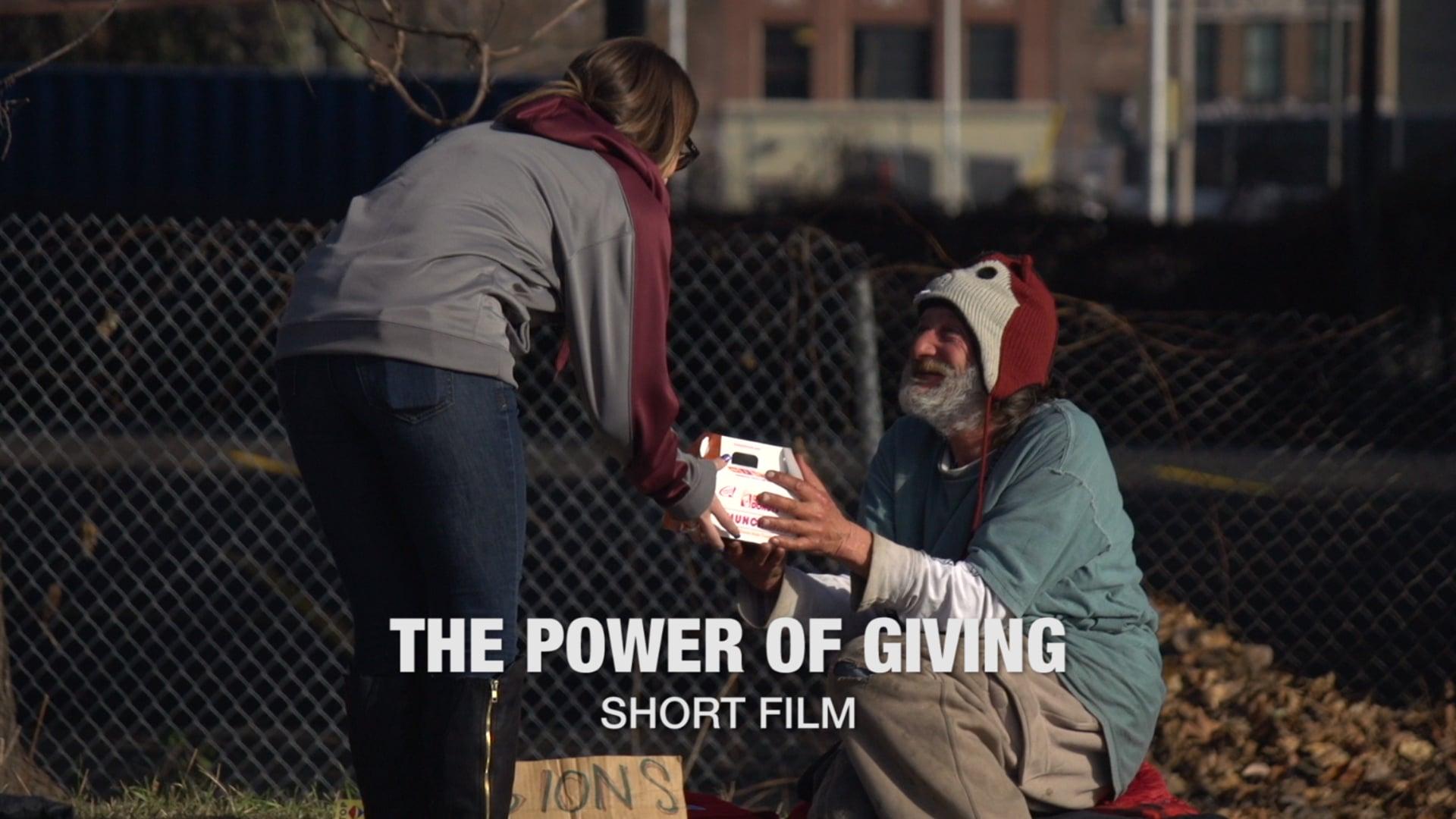 """The Power of Giving"" Short Film"