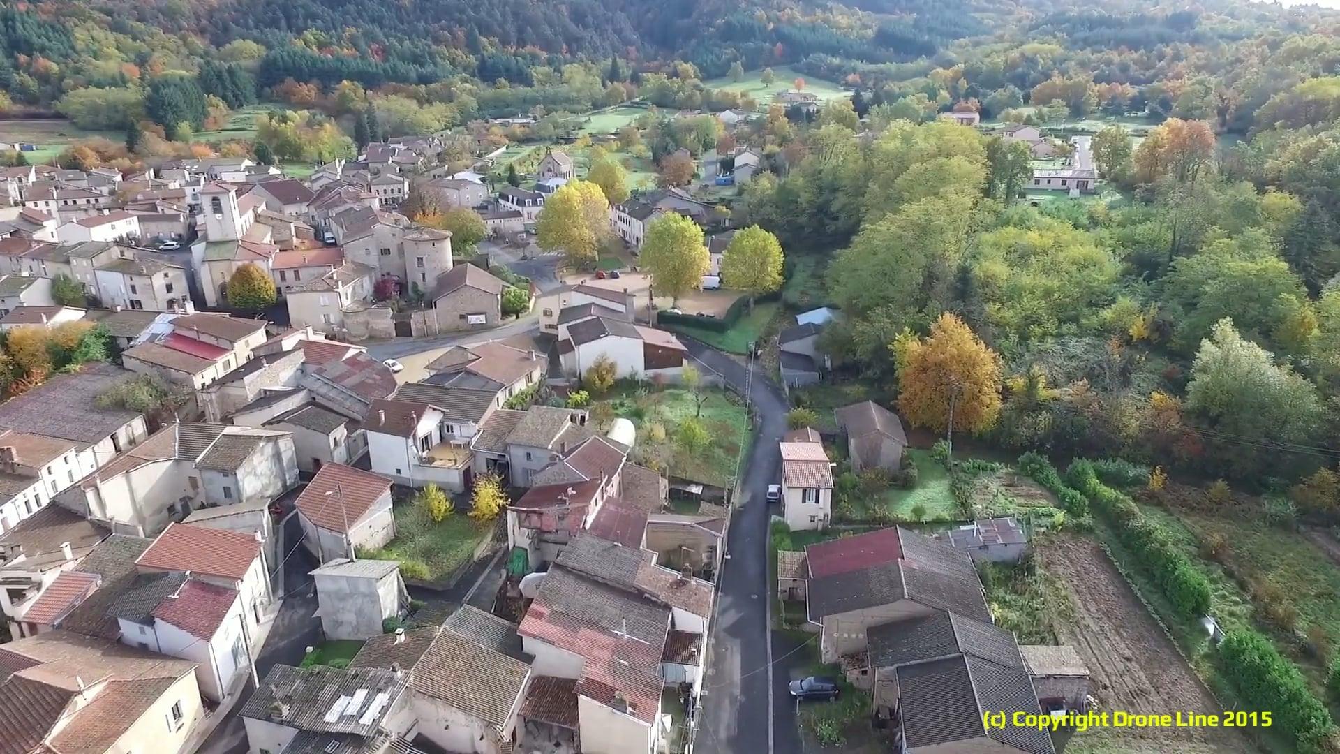 Survol du Village de Ris