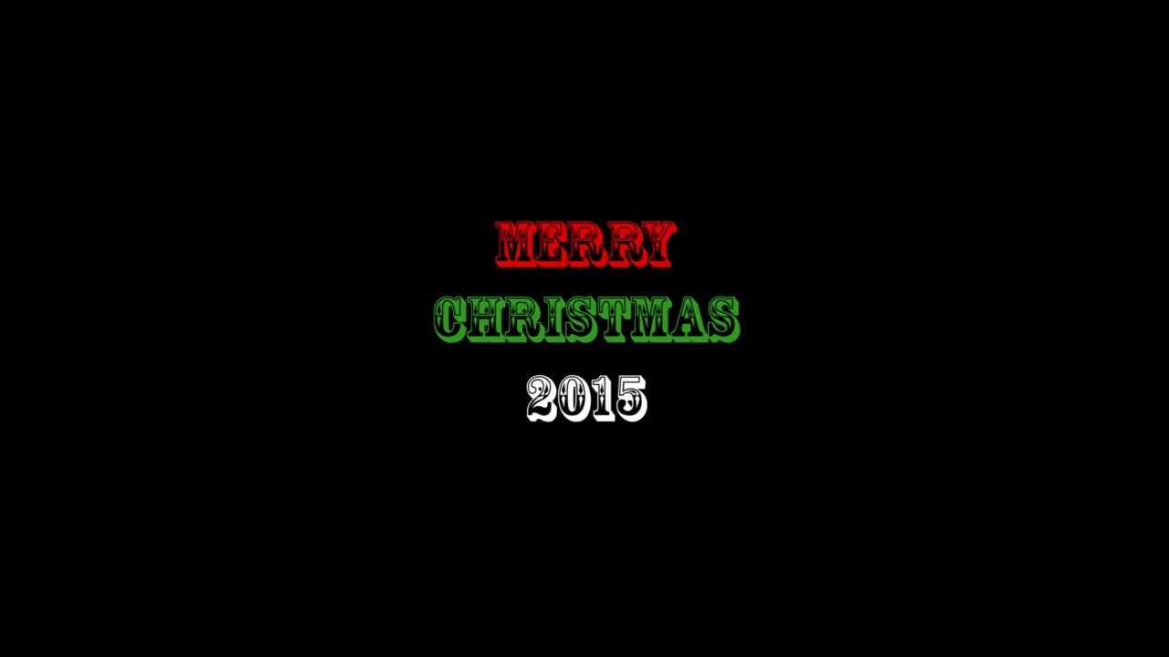 Annual Christmas Card Video from SidebySide 2015