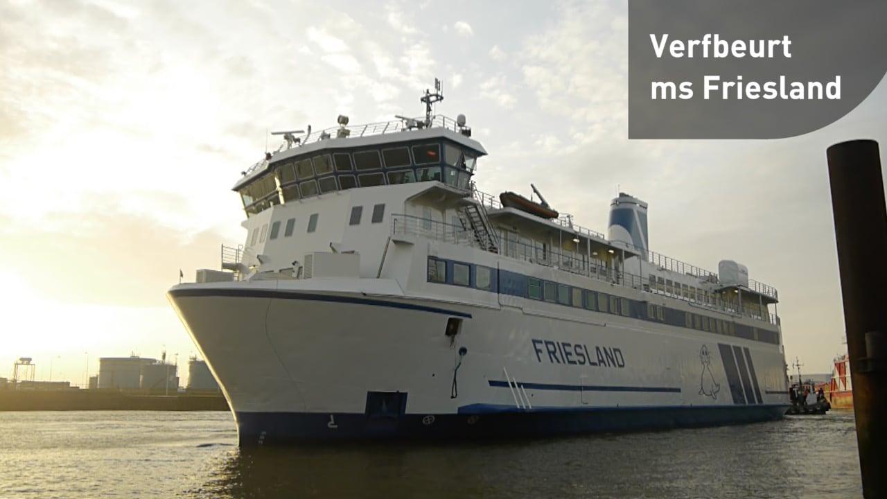ms Friesland verfbeurt - timelapse