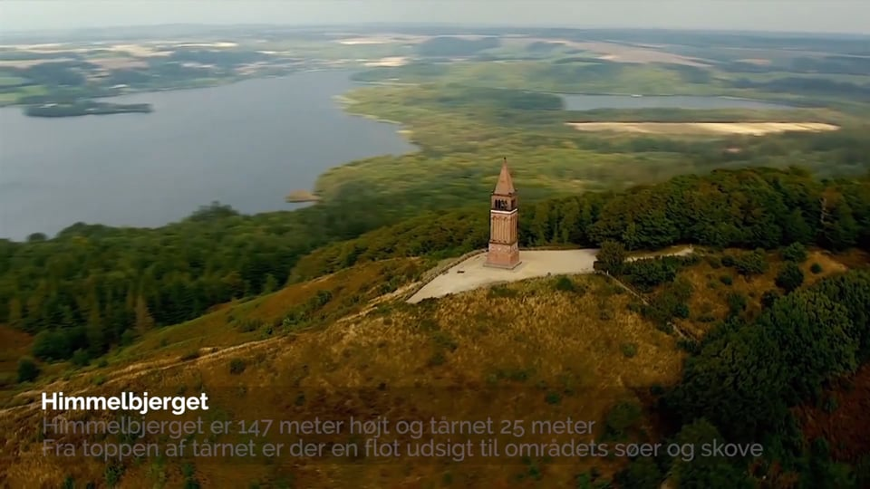 Indenfor 1 Time - Østjylland - Dansk version
