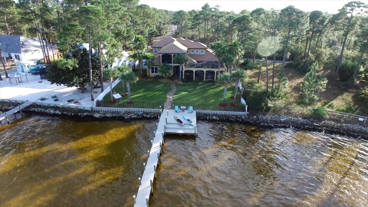 136 Casa Grande - bayfront home for sale, Santa Rosa Beach Fl.