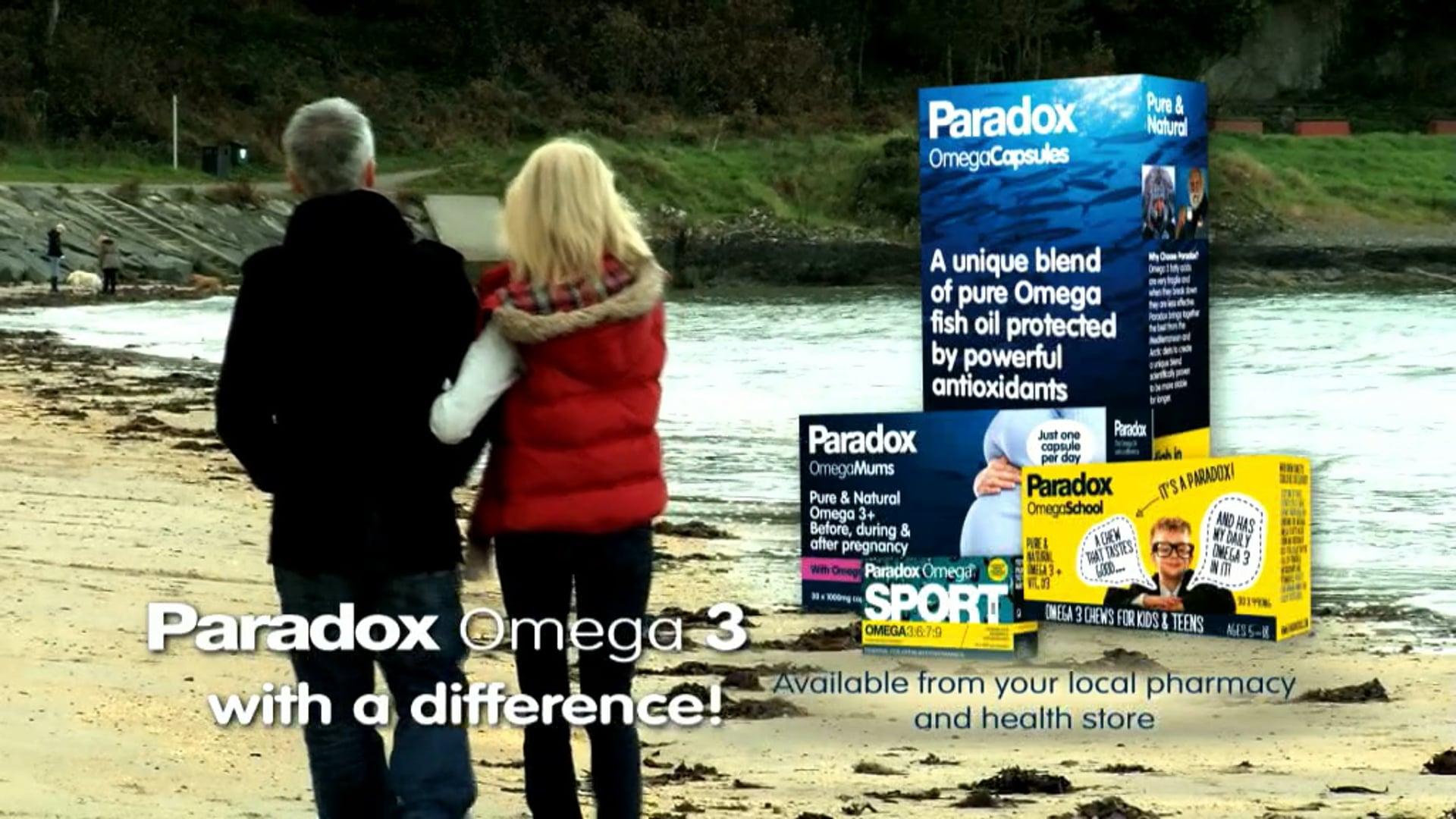 Paradox Omega Oil TV AD