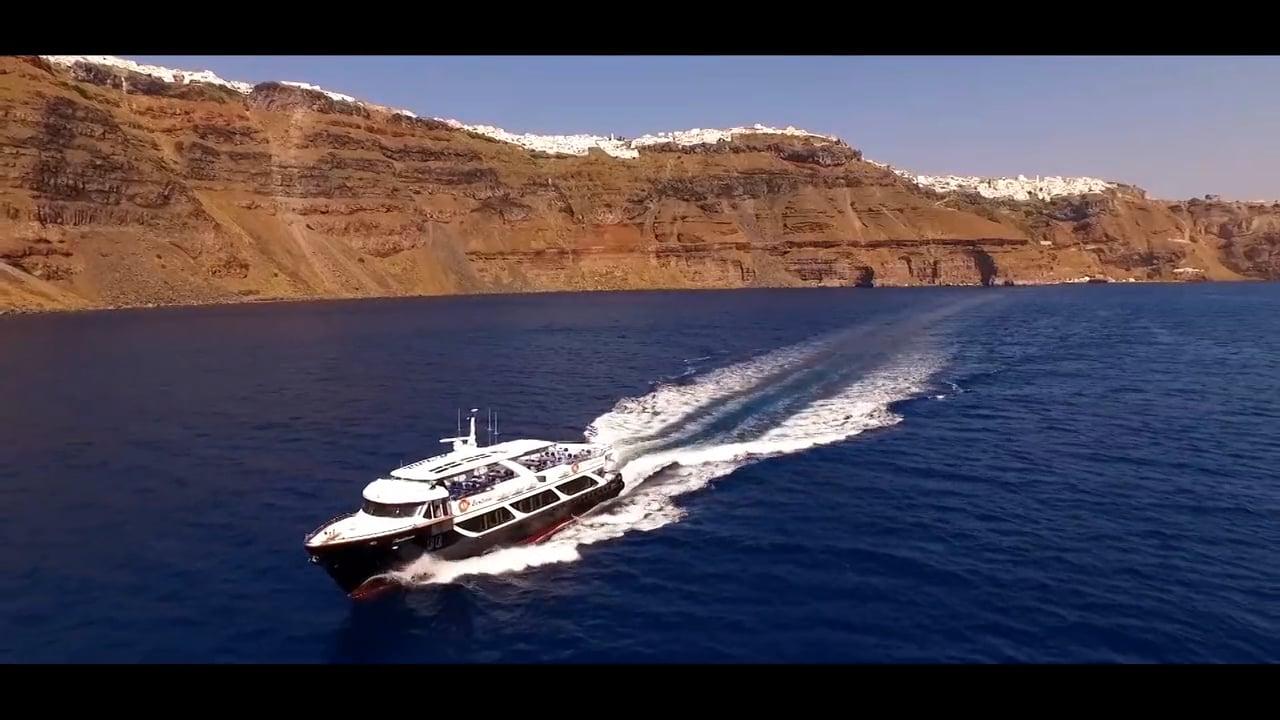 Santorini Boatmen Union (Ενωση Λεμβουχων Σαντορινης) - Showreel 2015