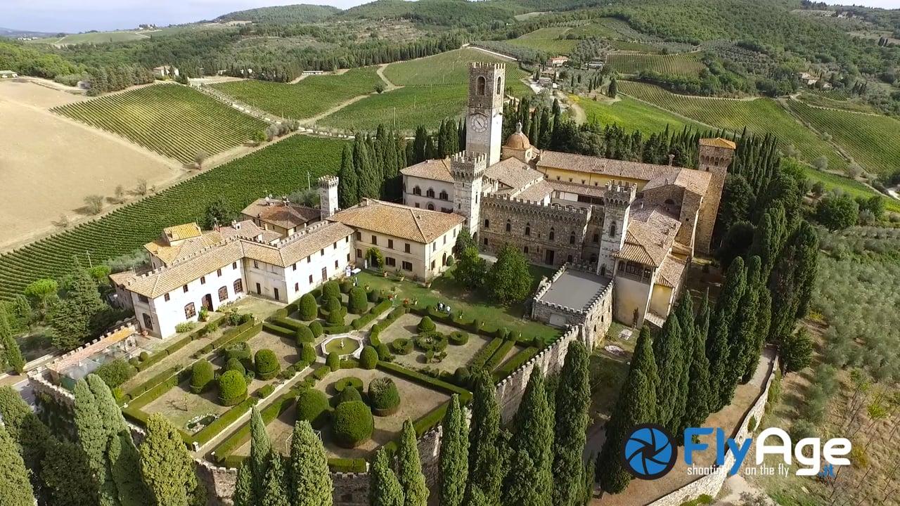 Alcuni Borghi Italiani visti dal Drone-Some Italian Village from drone's