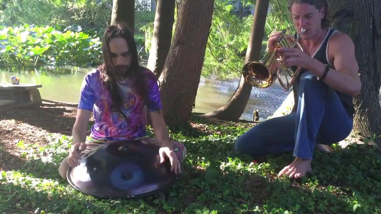 Elijah and Max Ribner - Handpan and Horn