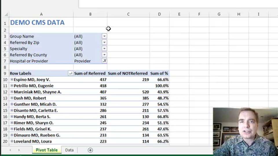 Excel Video 490 Basics of Power View Tables