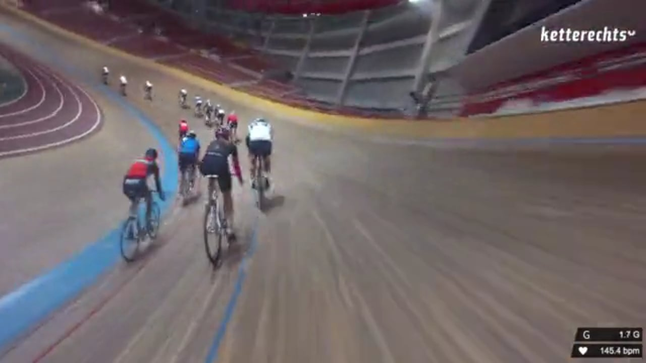friday on track - riding around