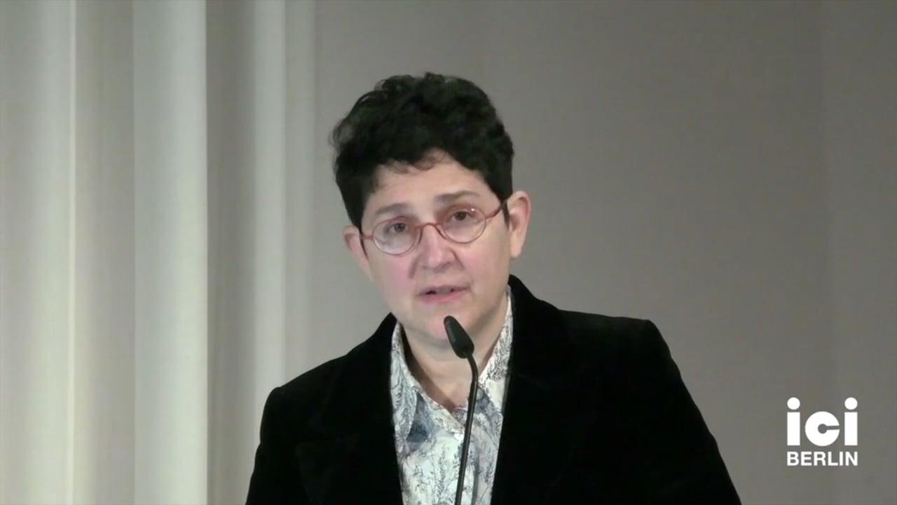 Talk by Mary Cappello