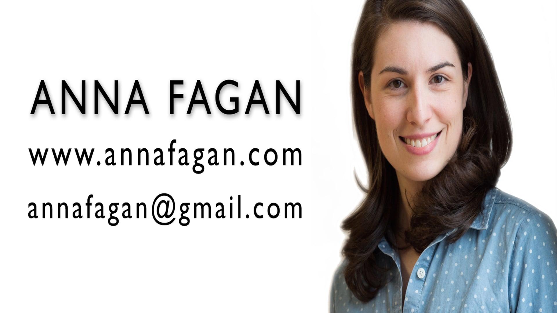 Anna Fagan Acting Reel 2015