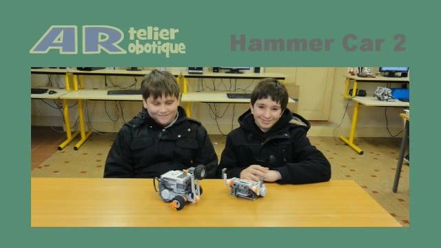 Projet « Hammer Car 2 » 2013