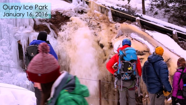 Ouray Ice Park Burst Water Pipe from Outside Adventure Media