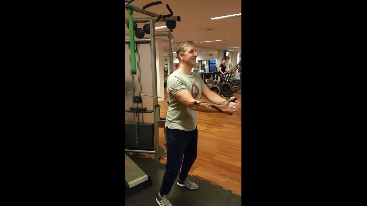 Pulley Chest Push