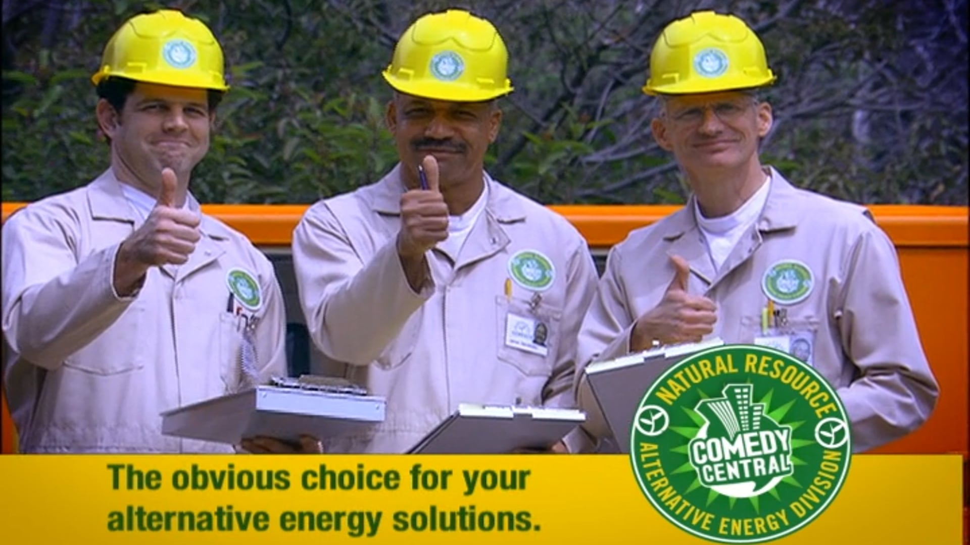 Comedy Central - Natural Resources Parody Image Spot