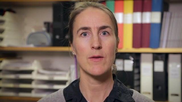 Karin Wadell, lärare inom ämnet fysioterapi