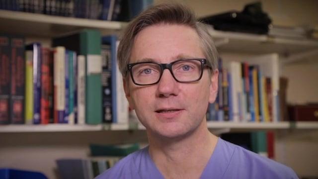 Magnus Domellöf, professor i pediatrik och barnläkare