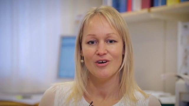 Lena Gunhaga, professor vid Umeå center för molekylärmedicin