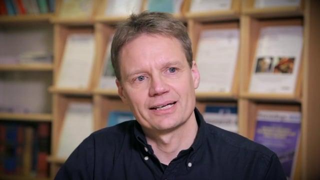 Anders Eklund, professor vid Institutionen för strålningsvetenskaper