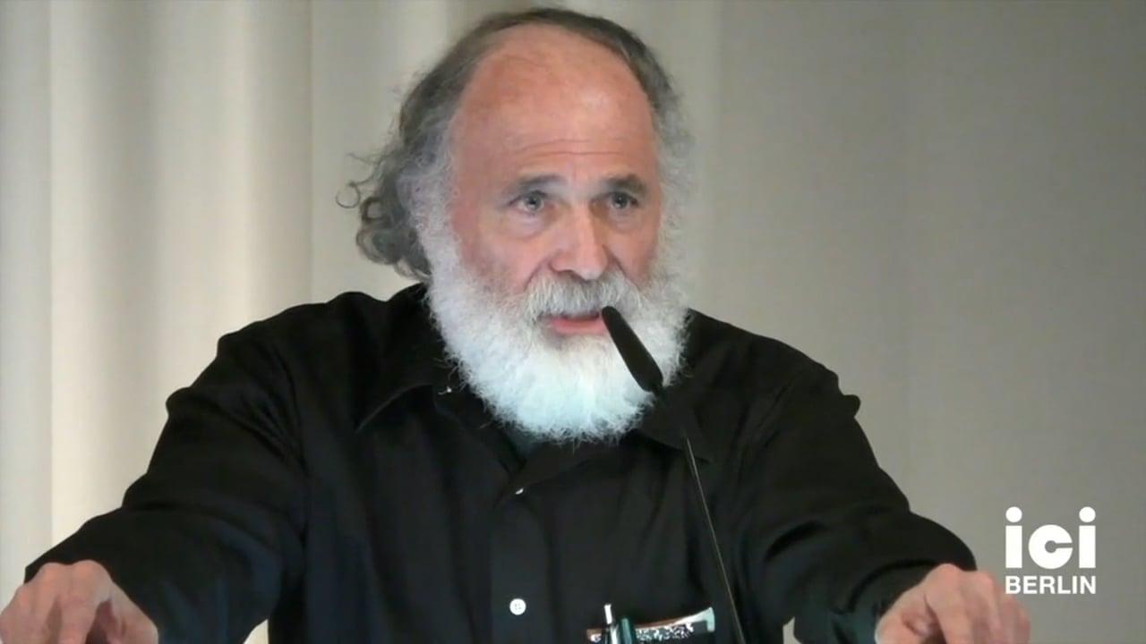 Talk by Hillel Schwartz
