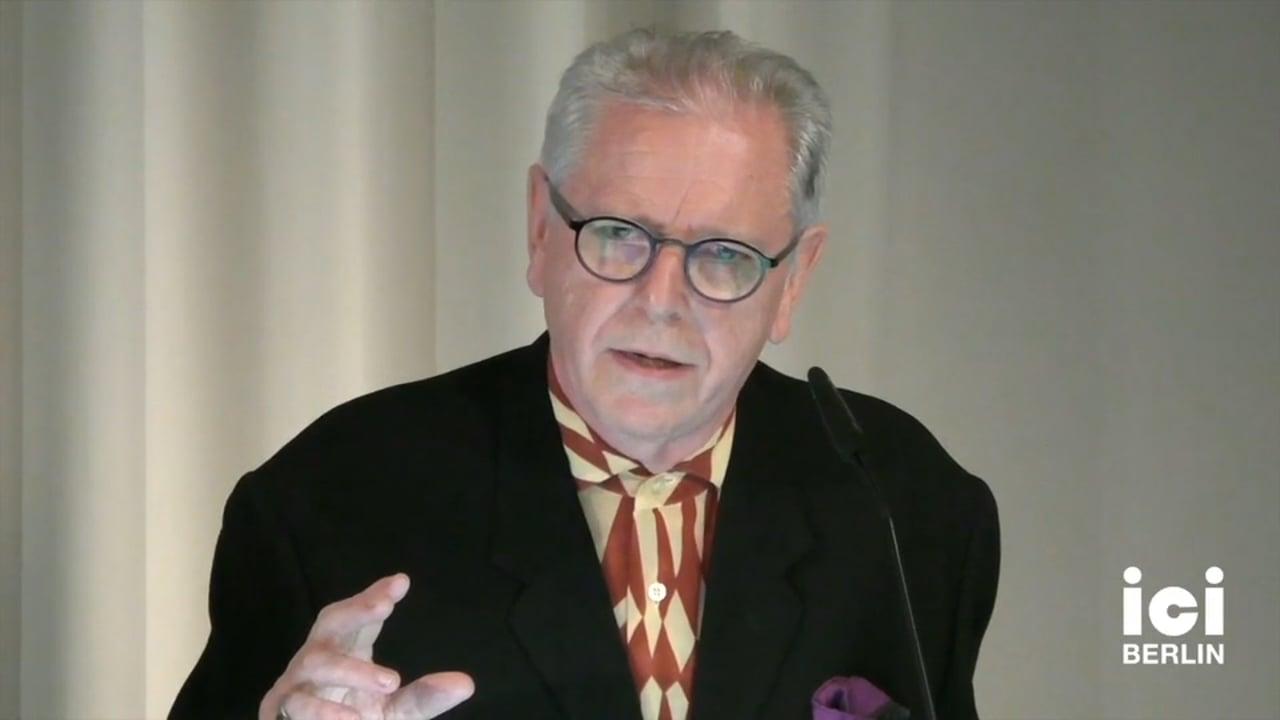 Talk by David Elliott