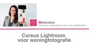 Bonstaete Cursus Lightroom