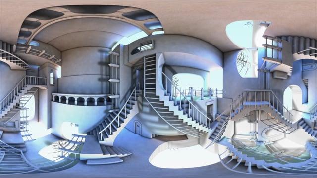 VR Escher Stairs