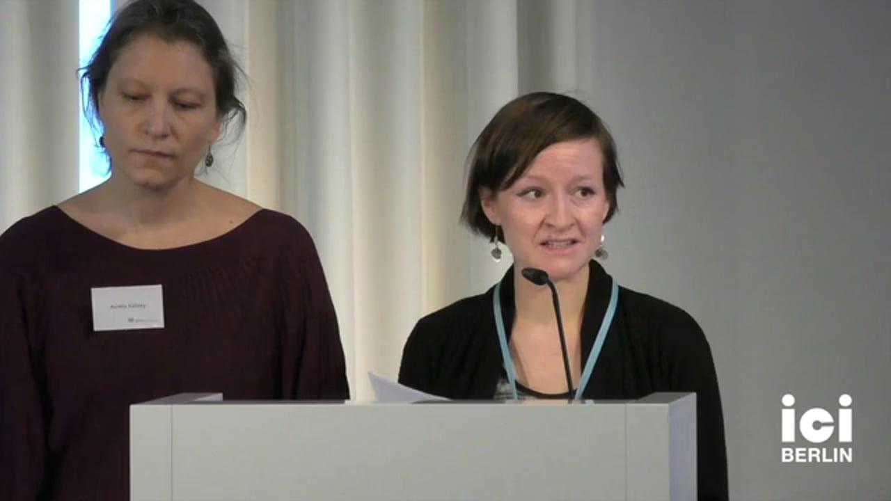 Introduction by Alice von Bieberstein and Aurelia Kalisky