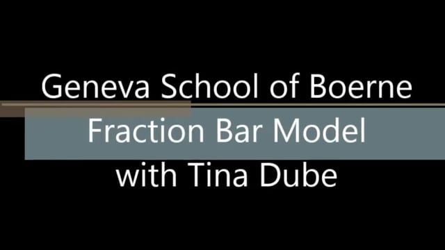 Fraction Bar Model