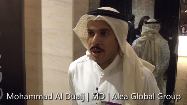 Middle East Investors Summit - Interview: Mohammed Al Duaij, Alea Global Group