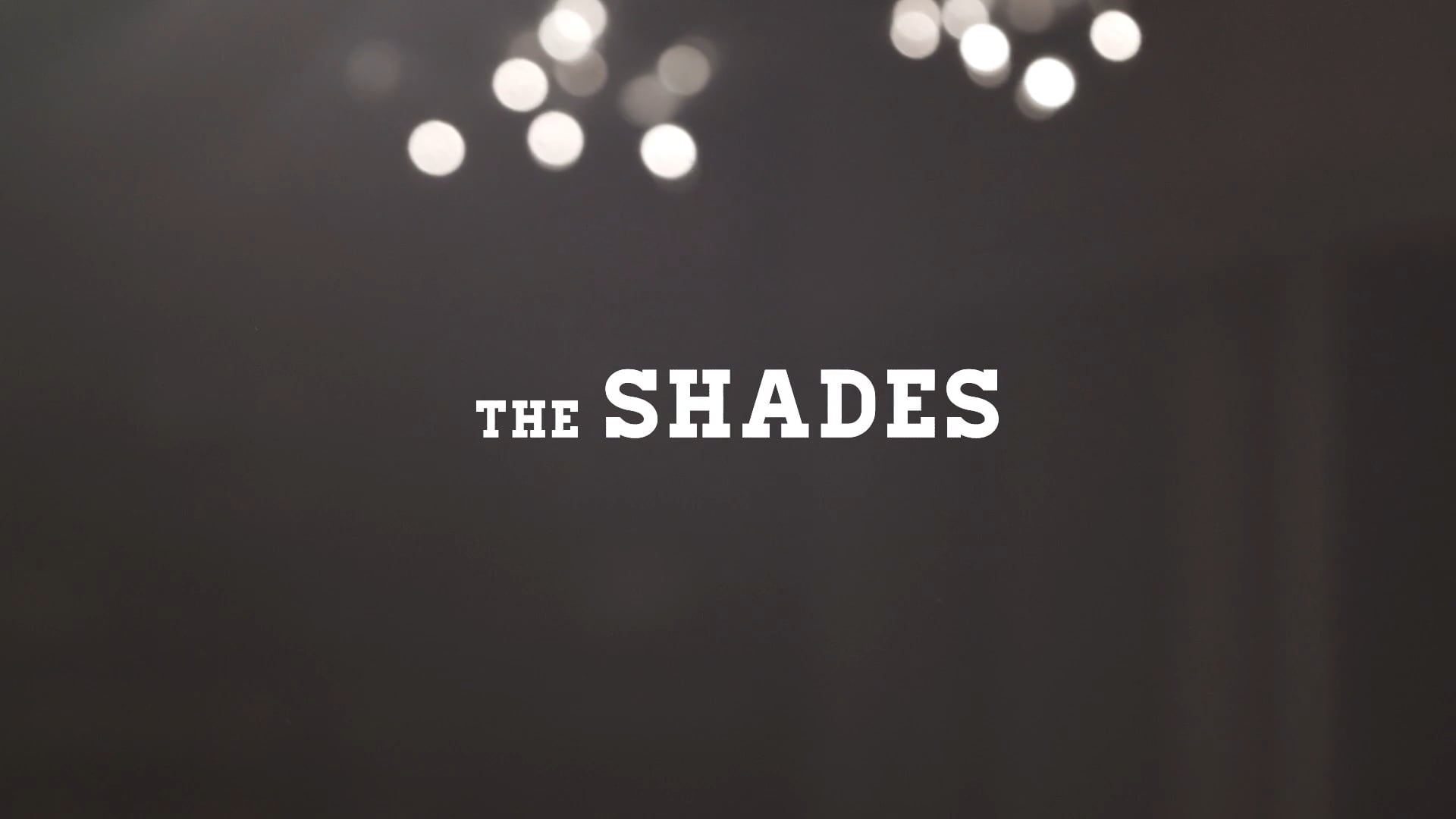 The Shades // The Path Without  - NPR Tiny Desk Submission