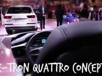 Audi of America – E-Tron Quattro Concept  NewsWatch Review