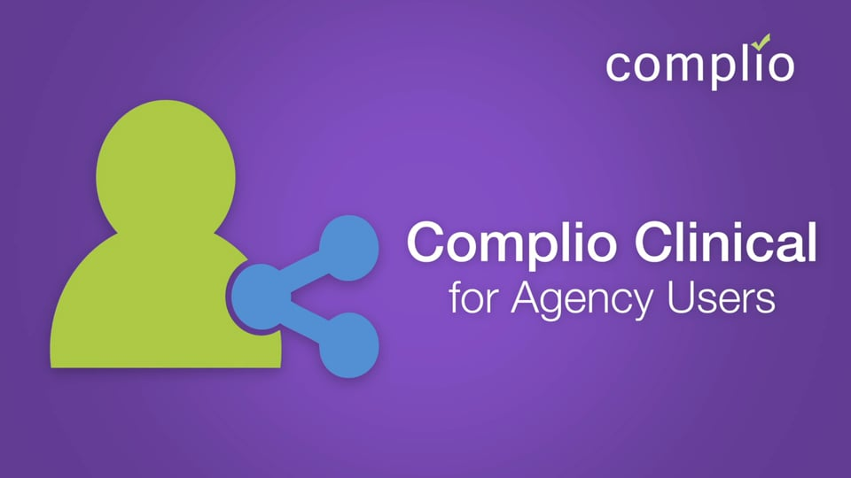 Complio Agency User Overview