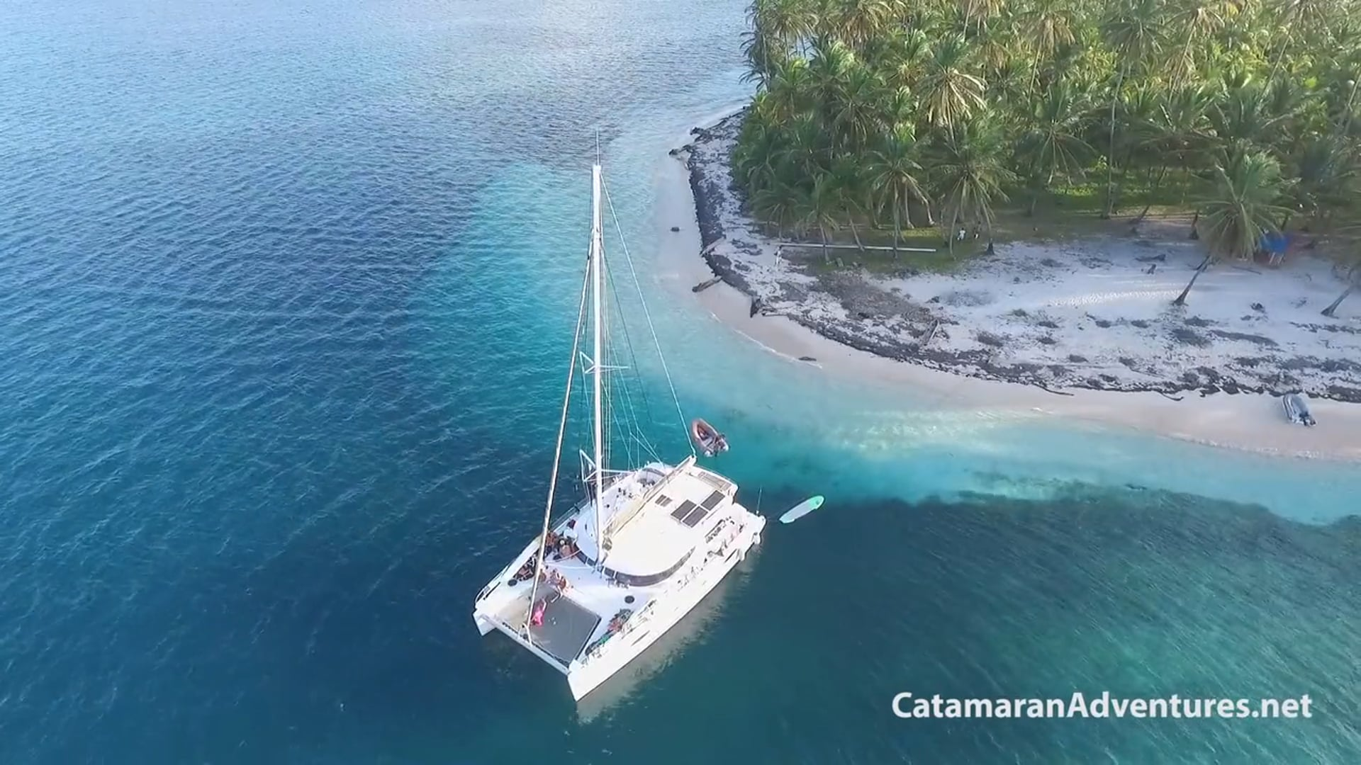 San Blas sailing on board our catamarans, spectacular tourist destination of Panama