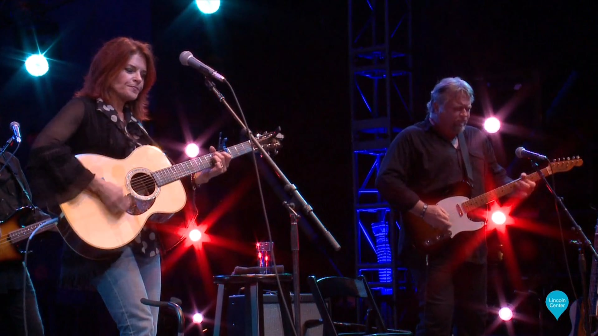 Rosanne Cash at Amercanafest - Lincoln Center Out of Doors