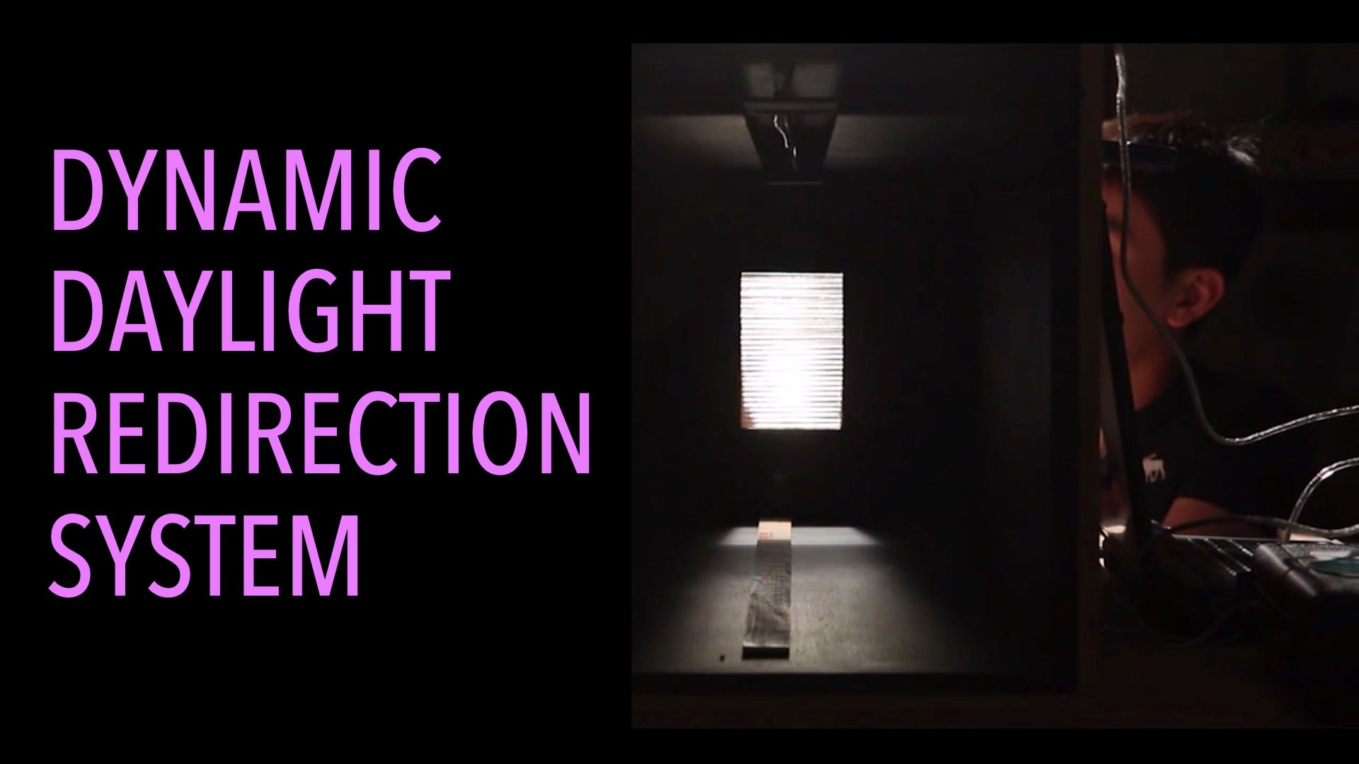Dynamic Daylight Redirection System