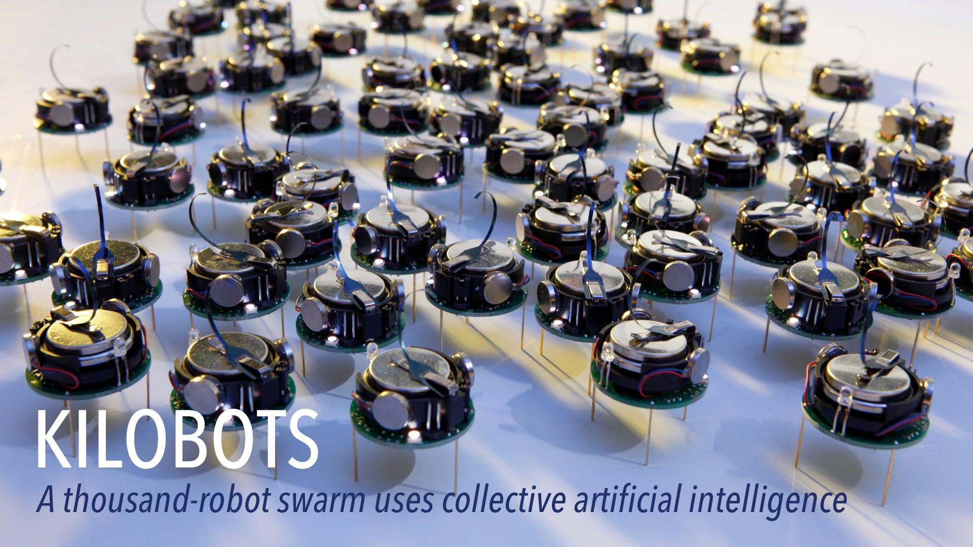 Kilobots: A Thousand-Robot Swarm