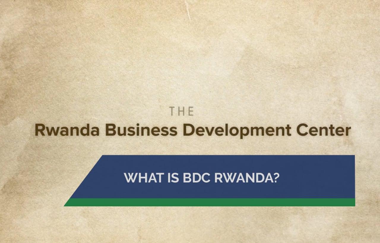 What is BDC Rwanda?