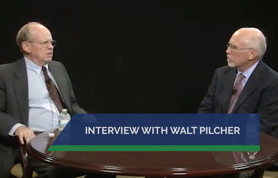 Interview with Walt Pilcher