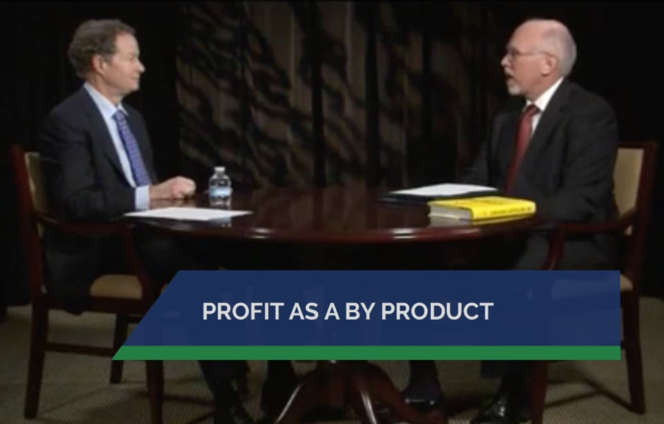Profit as a By Product