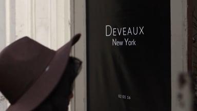 Blind Barber for Deveaux New York