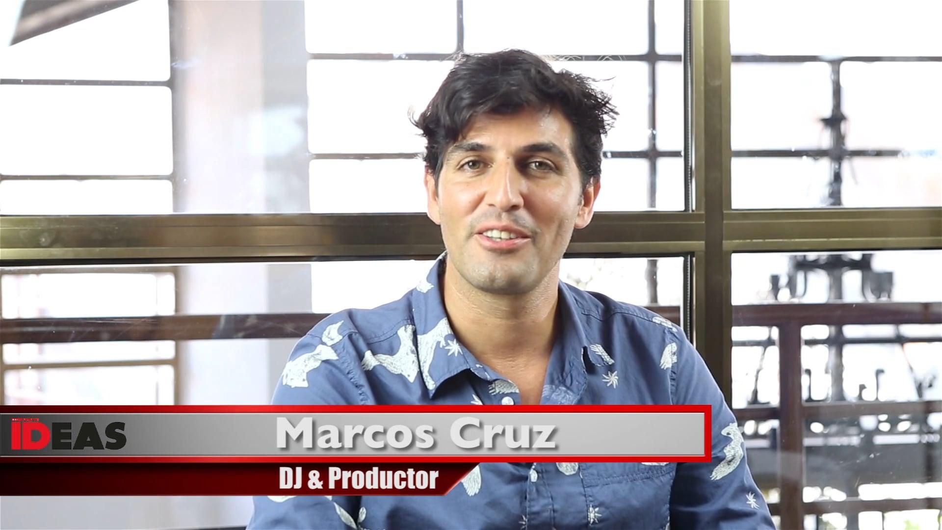 IDEAS. Marcos Cruz. Luz en medio de la oscuridad.
