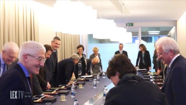 La Presidente della Corte d'Appello Margherita Cassano incontra il Consiglio dell'Ordine - 4/2/2016