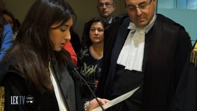 Il giuramento solenne dei nuovi avvocati fiorentini - 5/2/2016