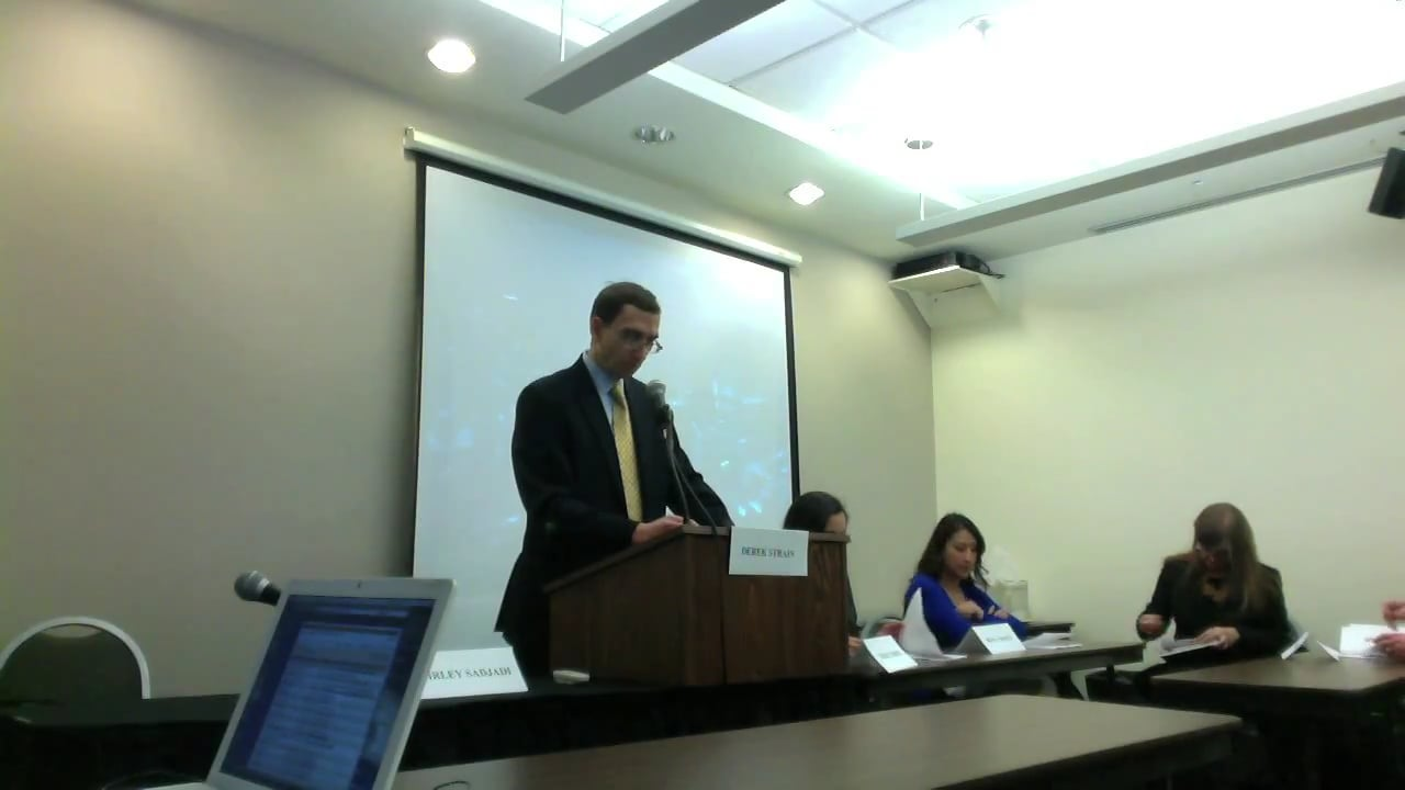 Media Committee Panel Discussion on the Need for Comprehensive Immigration Reform