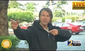 Homeless Man Helps Police Catch Fugitives