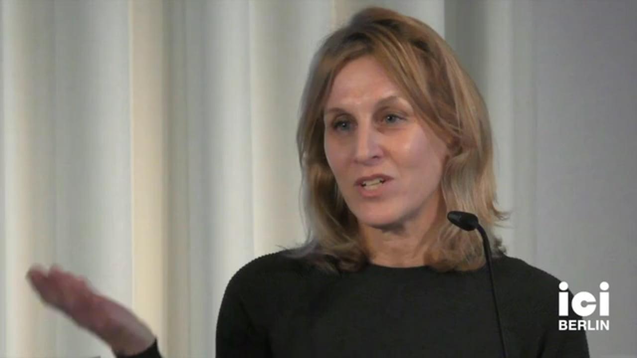 Talk by Janet Roitman